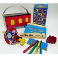 Thomas the Tank Engine Party Favor Boxes Filled 
